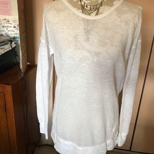 Women's Stem White Sweater Size XS